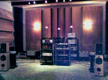 Demo room at Goodwin's High End
