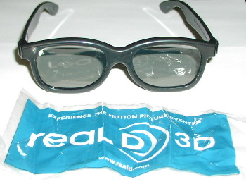 Real 3D glasses